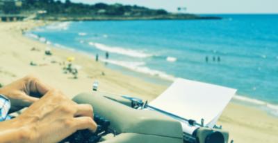 Summer Beach Writer